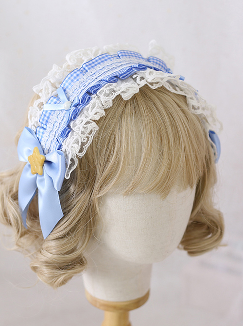 Multicolour Bowknot Desserts Cookies Lace Sweet Lolita Headband