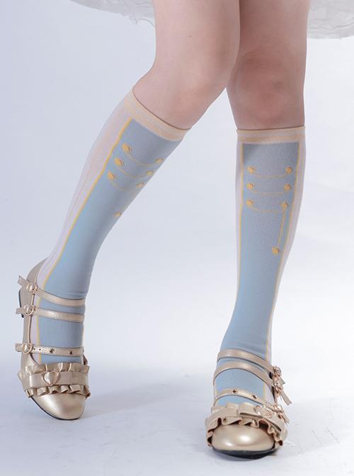 Nutcracker Series Two-color Sweet Lolita Socks