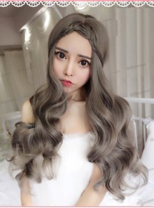 Aoki Gridelin Centre Parting Long Curly Hair Lolita Wig