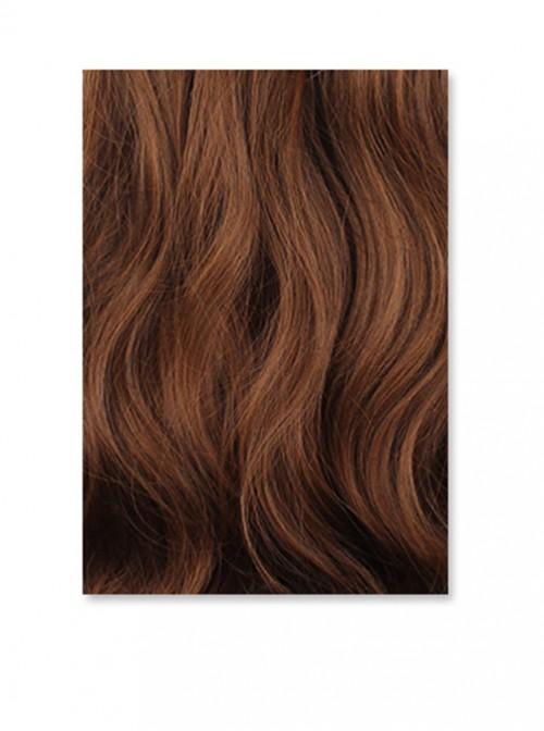 Harajuku Style Big Wave Pear Flower Curly Long Curly Hair Flax Yellow Lolita Wig