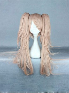 Dual Horsetail Light Brown Cosplay Lolita Wig