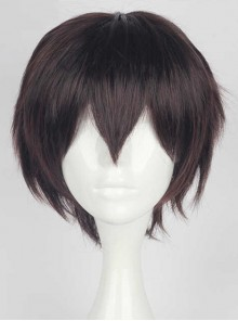 Short Hair Dark Brown Cosplay Lolita Wig