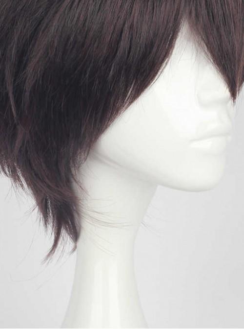 Short Hair Dark Brown Cosplay Lolita Wig
