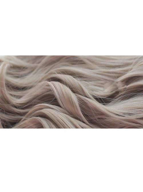 Milk Tea Color Long Curly Hair Classic Lolita Wig