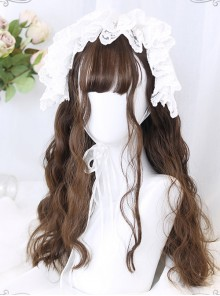 Cute Egg Roll Long Hair Lolita Wig