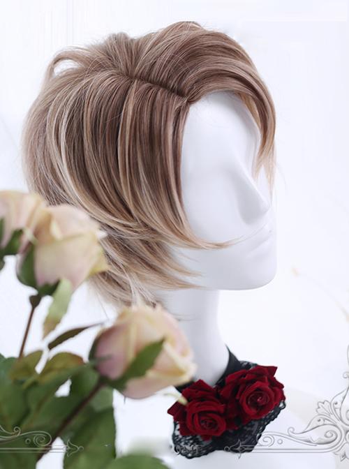 Earl Of Seidel Series Side Parting Lolita Mens Wig
