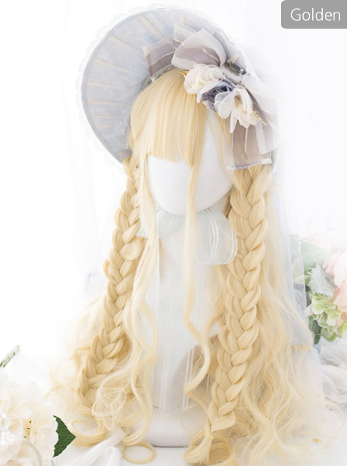 *Miss Mira* Series Corn Coils Long Curly Hair Classic Lolita Wigs