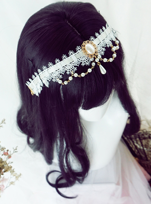 Black-purple Big Wavy Long Curly Hair Polaris Lolita Wigs