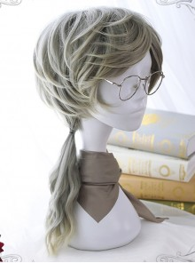 Handsome Half-long Hair Prince Lolita Gradient Wigs