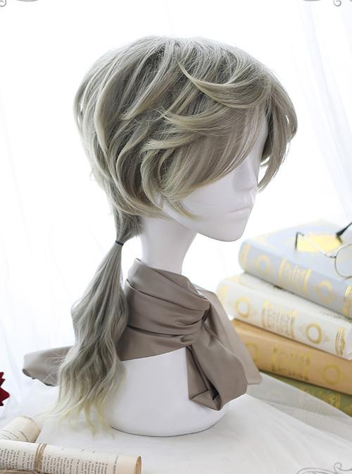 Handsome Half-long Hair Prince Lolita Gradient Wigs
