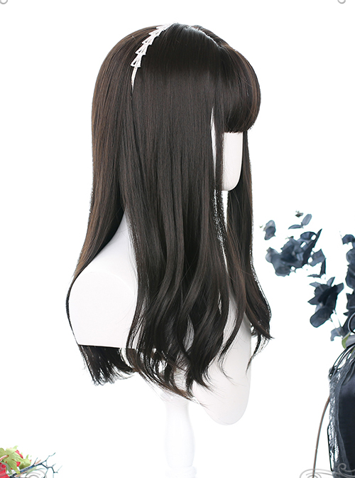 Hair Tail Hierarchical Design Long Curly Wig Classic Lolita Wigs
