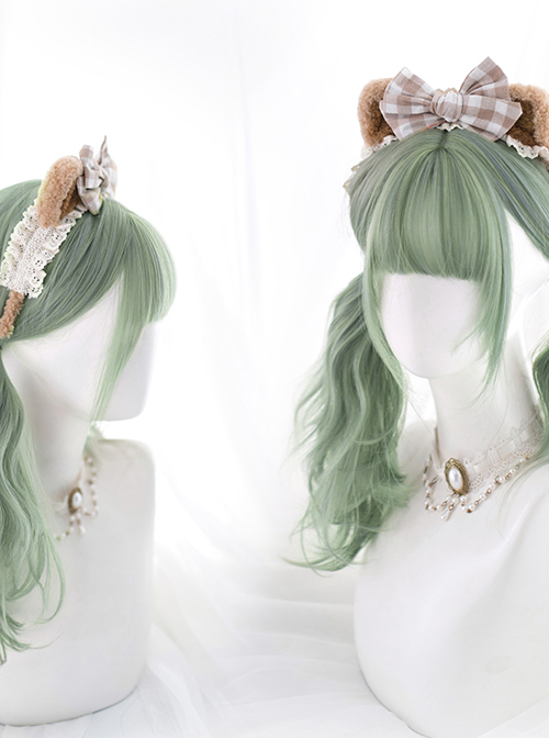 Long Curly Multicolour Optional Daily Wig Sweet Lolita Wigs