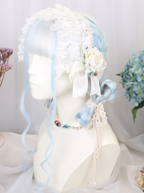 Gemstone Color Long Straight Classic Lolita Wigs