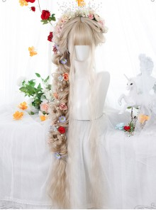 Retro Elegant Super Long Curly Classic Lolita Wigs