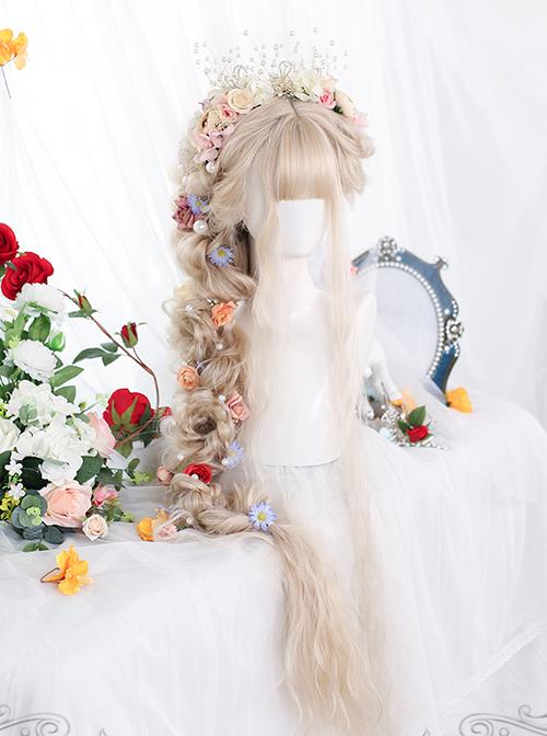 Retro Elegant Super Long Curly Classic Lolita Wigs