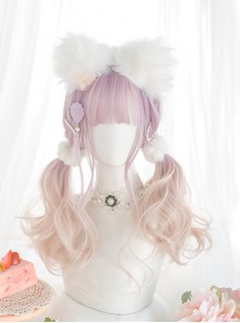 Taro Purple Gradient Long Curly Wig Sweet Lolita Wigs