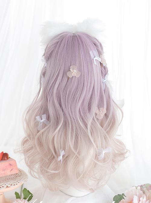 Taro Purple Gradient Long Curly Wig Sweet Lolita Wigs