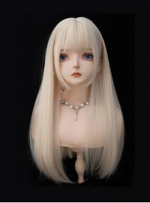 Alice Series Light Golden Cute Classic Lolita Three Different Wigs