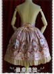 Cinderella Series High Waist Pink Classic Lolita Skirt