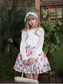 Neverland Cool Watermelons Series Watermelon Printing Lolita Skirt