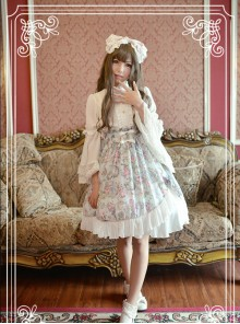 Antique Clock Series Ordinary Waist Classic Lolita Skirt