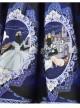 Fairy Princess Printing Little High Waist Classic Lolita Skirt
