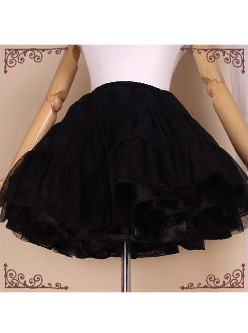 A-line Dress Lolita Glass Yarn Petticoat