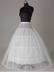 Wedding Dress Petticoat Lace Hard Net Lolita Long Petticoat
