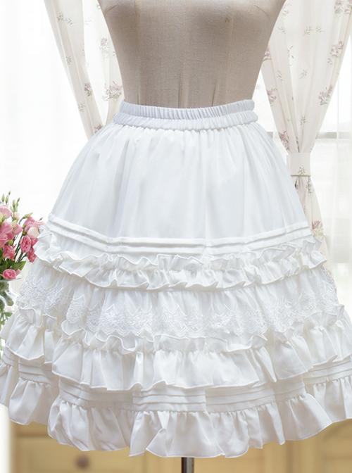 Classical Elegant Chiffon Classic Lolita Petticoat