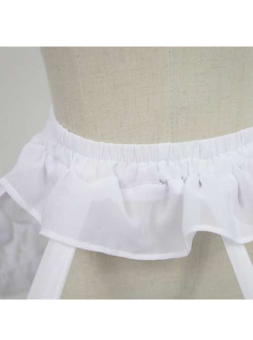 Ruffles Birdcage Type Steel Ring Dress Support Lolita Petticoat