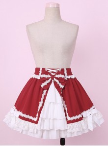 Little Red Riding Hood Series Multi-Layer Cake Lace Sweet Lolita Skirt
