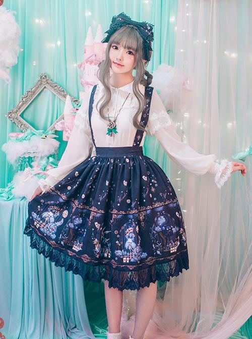 Alice's Dreamland Series Printing Classic Lolita Skirt