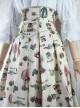 Mechanical Balloon Series High Waist Classic Lolita Fish-bone Skirt
