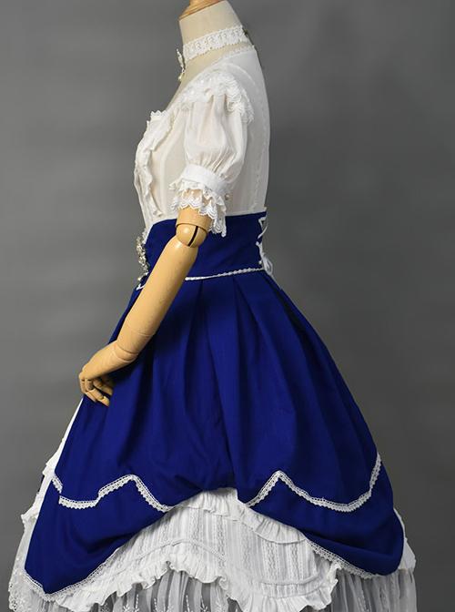Retro Ruffles Big Hem Classic Lolita Skirt