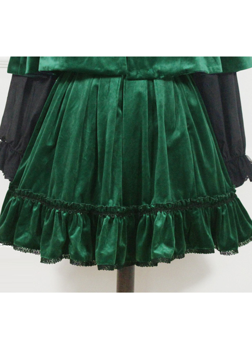 Little Red Riding Hood Series Retro Fairy Style SK Gothic Lolita Skirt
