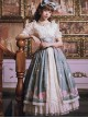 The Poetry Of Roses Series SK Retro Elegant High Waist Classic Lolita Long Skirt