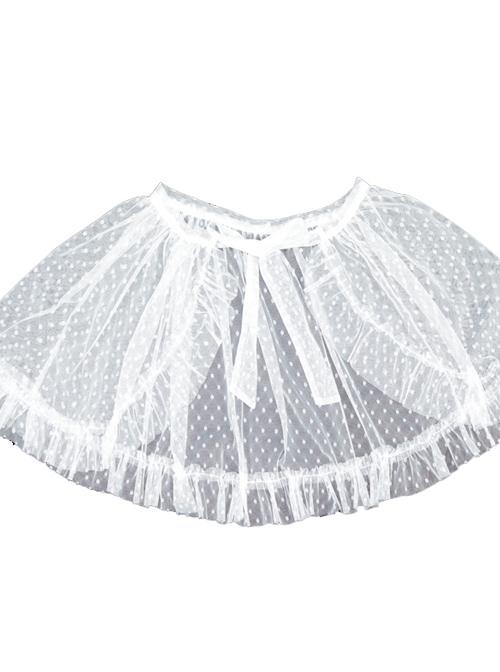 Full-blown Flowers Series Sweet Lolita Cover Skirt