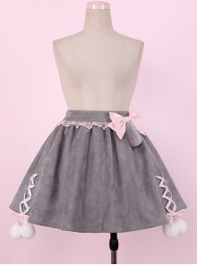 British Shorthair Series Cute Cat Tail Sweet Lolita Skirt