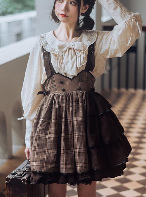 Little Detective Series SK Cute Gothic Lolita Skirt