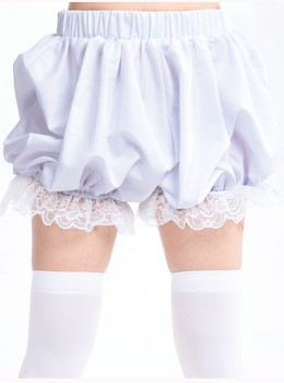 Lolita pure white lace bloomers