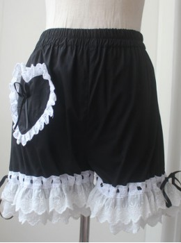 Lolita Black Lace Bloomers