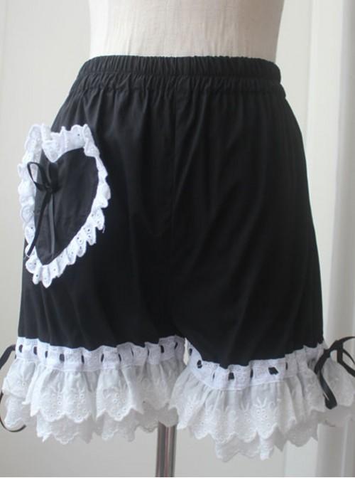 Lolita Black Lace Bloomers