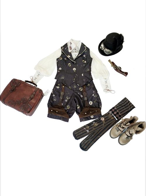Infanta- Mechanical Doll Series Steampunk Lolita Pants