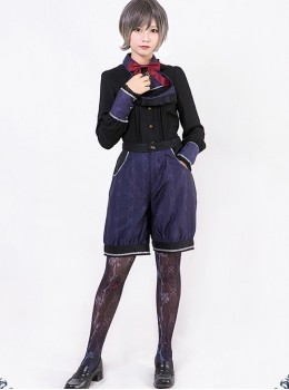 Beauty the Rose Series Gothic Lolita Bloomers