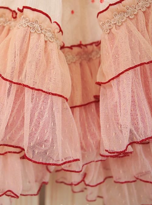 Treasure Box Lovers Series Classic Lolita Short Style Pumpkin Pants