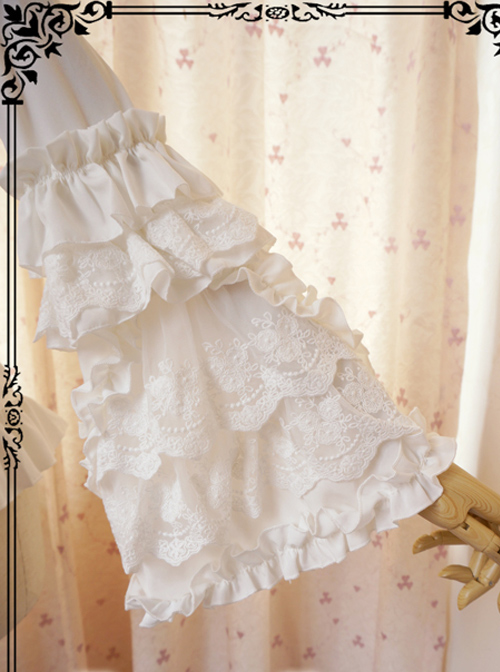 Retro Long Trumpet Sleeve Classic Lolita Shirt