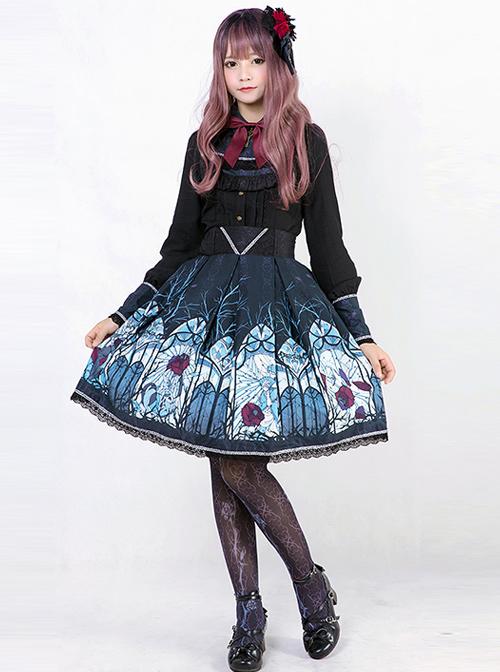 Beauty The Rose Series Puff Sleeve Classic Lolita Shirt
