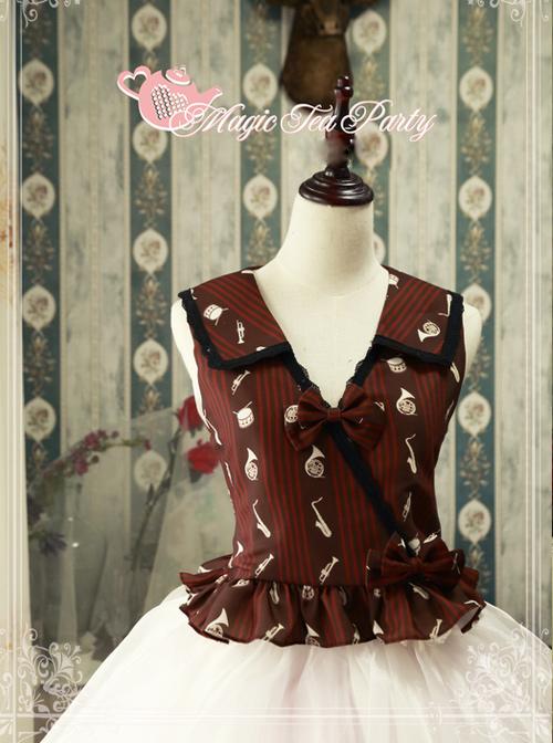 Magic Tea Party Bremen Town Musician Series Classic Lolita Vest
