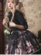 Coronation Bear Series Lace Ruffle Classic Lolita Chiffon Half Sleeve Shirt