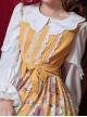 Spring Cute Petal Collar White Classic Lolita Long Sleeve Shirt